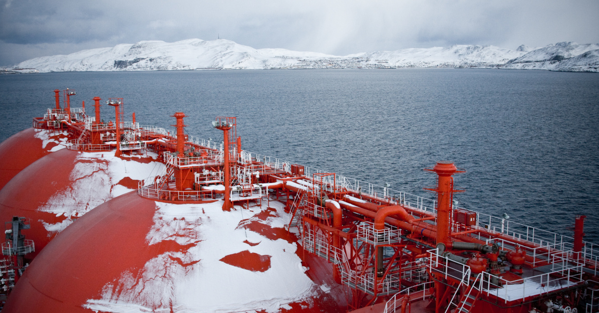 LNG Carrier in Arctic